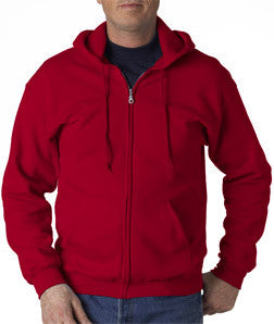 Gildan Adult Heavy Blend Full-Zip Hooded Sweatshirt - EZ Corporate Clothing  - 6