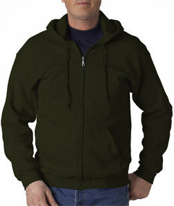 Gildan Adult Heavy Blend Full-Zip Hooded Sweatshirt - EZ Corporate Clothing  - 9