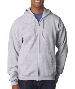 Gildan Adult Heavy Blend Full-Zip Hooded Sweatshirt - EZ Corporate Clothing  - 3