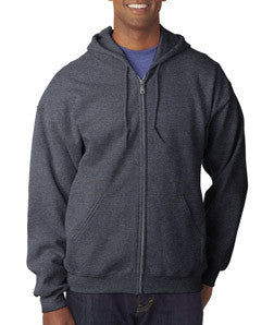 Gildan Adult Heavy Blend Full-Zip Hooded Sweatshirt - EZ Corporate Clothing  - 8