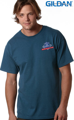 Gildan Adult Ultra Cotton T-Shirt with Embroidery - EZ Corporate Clothing  - 2