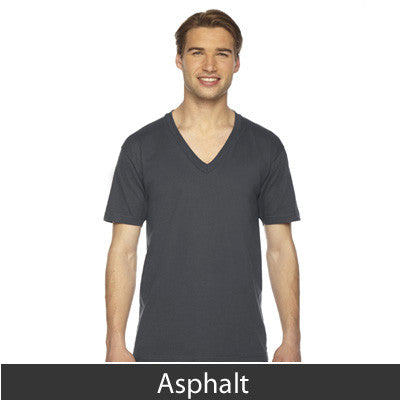 American Apparel Unisex Fine Jersey Short Sleeve V-Neck - EZ Corporate Clothing  - 5