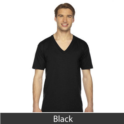 American Apparel Unisex Fine Jersey Short Sleeve V-Neck - EZ Corporate Clothing  - 6