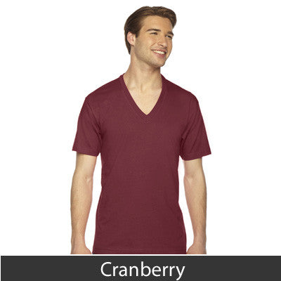 American Apparel Unisex Fine Jersey Short Sleeve V-Neck - EZ Corporate Clothing  - 8