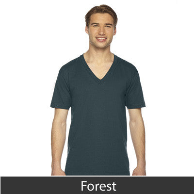 American Apparel Unisex Fine Jersey Short Sleeve V-Neck - EZ Corporate Clothing  - 9