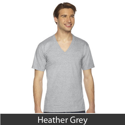 American Apparel Unisex Fine Jersey Short Sleeve V-Neck - EZ Corporate Clothing  - 10