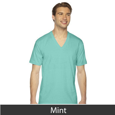 American Apparel Unisex Fine Jersey Short Sleeve V-Neck - EZ Corporate Clothing  - 18