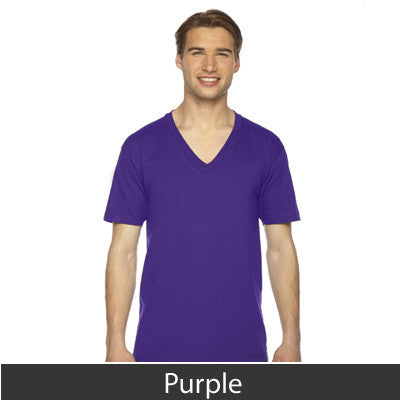 American Apparel Unisex Fine Jersey Short Sleeve V-Neck - EZ Corporate Clothing  - 21