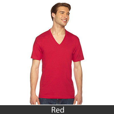 American Apparel Unisex Fine Jersey Short Sleeve V-Neck - EZ Corporate Clothing  - 22