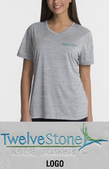 Charles River Women's Space Dye Tee - TwelveStone Health Partners