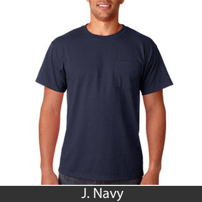 Jerzees Heavyweight Blend T-Shirt with Pocket - EZ Corporate Clothing  - 7