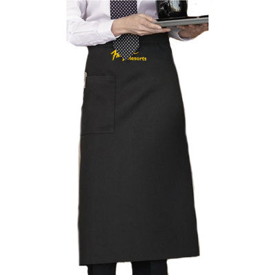 Customized Full Bistro Apron - EZ Corporate Clothing  - 1