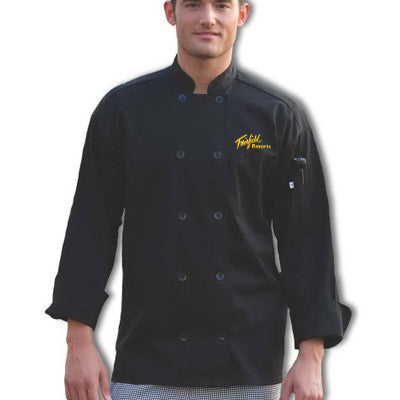 Custom Logo Embroidered Chef Coats