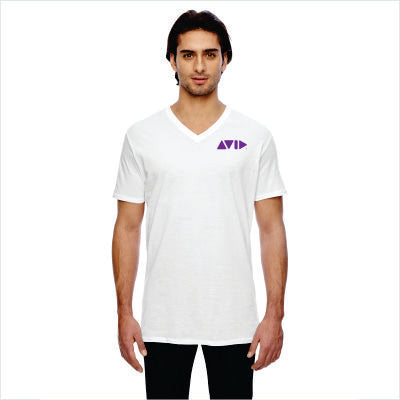 Anvil Featherweight Short-Sleeve V-Neck T-Shirt for AVID - 352