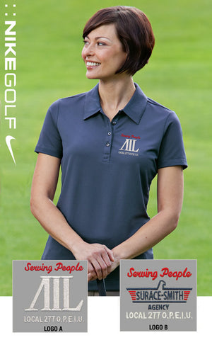 Nike Golf Ladies Sphere Dry Diamond Polo - AIL