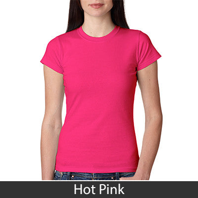 Anvil Ladies Semi-Sheer Crewneck Tee - EZ Corporate Clothing  - 9