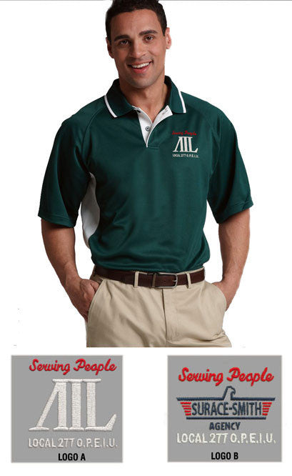 Charles River Men's Color Blocked Wicking Polo - AIL - EZ Corporate Clothing  - 1