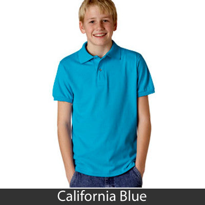 Jerzees Youth 5.6oz, 50/50 Jersey Polo With SpotShield - EZ Corporate Clothing  - 4