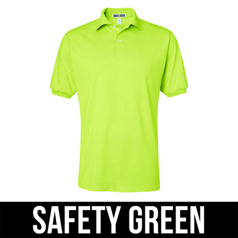 Jerzees 50/50 Jersey Polo with Spotshield - AIL