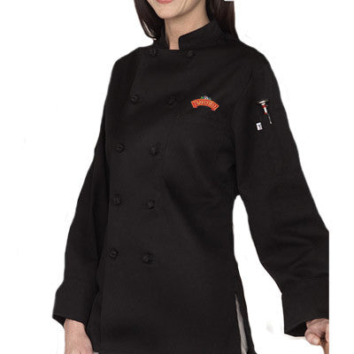 Sedona Chef Coat for Women - EZ Corporate Clothing  - 1