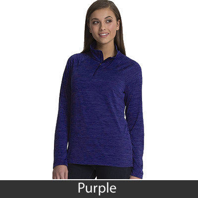 Charles River Women's Space Dye Performance Pullover - CR5763