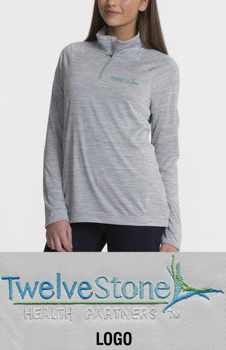 Charles River Women's Space Dye Performance Pullover - TwelveStone Health Partners