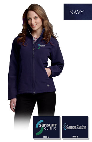 Sansum Clinic Charles River Ladies Soft Shell Jacket - EZ Corporate Clothing  - 2
