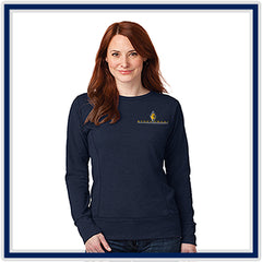 Anvil Ladies' French Terry Crewneck Sweatshirt - Stachowski Farms - 72000L