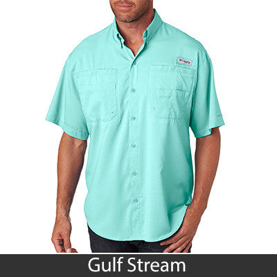 1- Columbia Men's Tamiami Short Sleeve Shirt - 7266 - EZ Corporate Clothing  - 3
