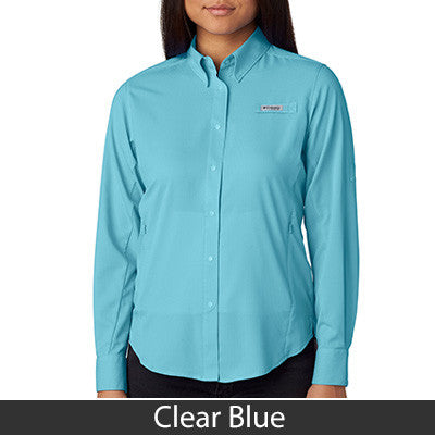 1- Columbia Ladies Tamiami Long-Sleeve Shirt - 7278 - EZ Corporate Clothing  - 3