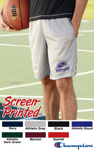 Champion Long Mesh Shorts With Pocket - EZ Corporate Clothing  - 2