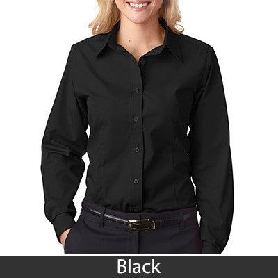 Ladies' Easy-Care Broadcloth 8355L - EZ Corporate Clothing  - 2