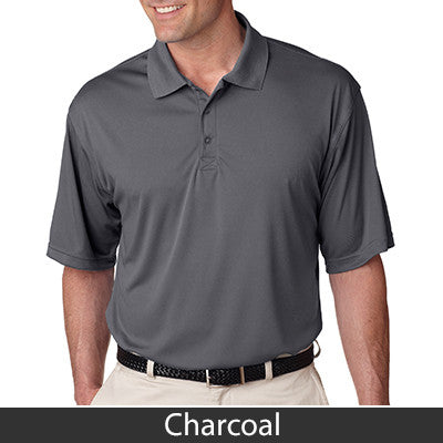 UltraClub Mens Cool-n-Dry Sport Performance Interlock Polo - EZ Corporate Clothing  - 4