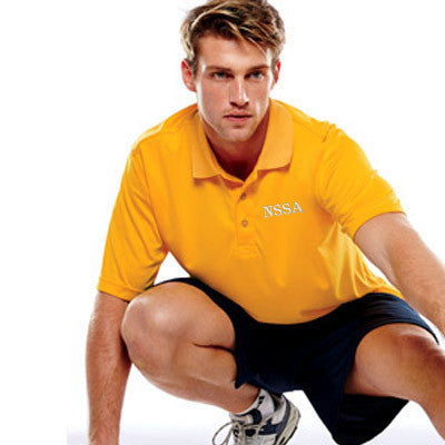 UltraClub Mens Cool-n-Dry Sport Performance Interlock Polo - EZ Corporate Clothing  - 1