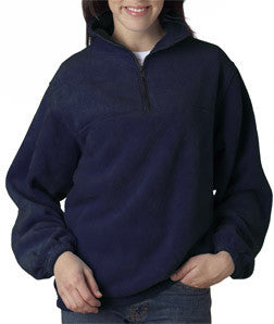 UltraClub Iceberg Fleece 1/4-Zip Pullover - EZ Corporate Clothing  - 6