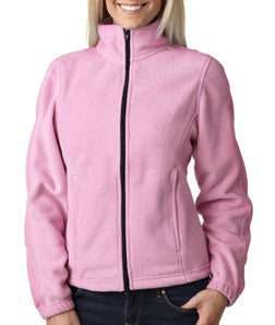 UltraClub Ladies Iceberg Fleece Full-Zip Jacket - EZ Corporate Clothing  - 8