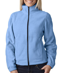 UltraClub Ladies Iceberg Fleece Full-Zip Jacket - EZ Corporate Clothing  - 3