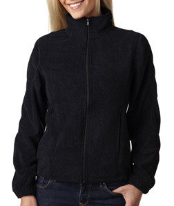 UltraClub Ladies Iceberg Fleece Full-Zip Jacket - EZ Corporate Clothing  - 2