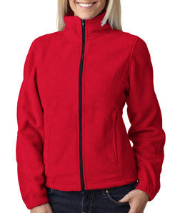 UltraClub Ladies Iceberg Fleece Full-Zip Jacket - EZ Corporate Clothing  - 9