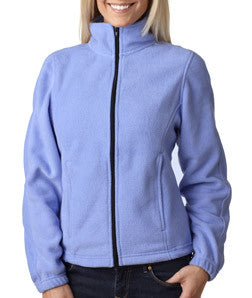 UltraClub Ladies Iceberg Fleece Full-Zip Jacket - EZ Corporate Clothing  - 6