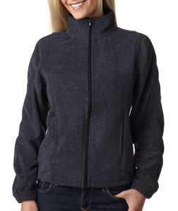 UltraClub Ladies Iceberg Fleece Full-Zip Jacket - EZ Corporate Clothing  - 4