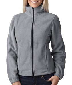 UltraClub Ladies Iceberg Fleece Full-Zip Jacket - EZ Corporate Clothing  - 5