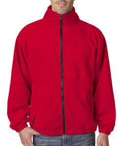 UltraClub Mens Iceberg Fleece Full-Zip Jacket - EZ Corporate Clothing  - 7