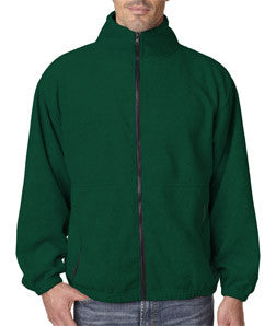 UltraClub Mens Iceberg Fleece Full-Zip Jacket - EZ Corporate Clothing  - 4