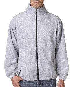 UltraClub Mens Iceberg Fleece Full-Zip Jacket - EZ Corporate Clothing  - 5