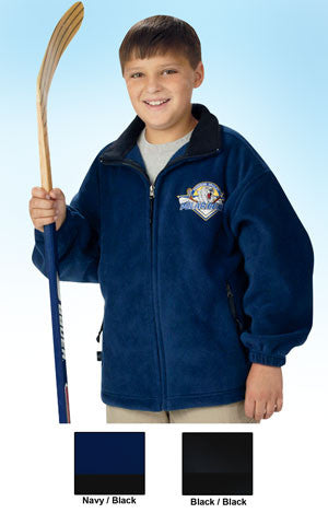 Charles River Youth Voyager Fleece Jacket - EZ Corporate Clothing  - 2
