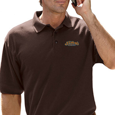 UltraClub Mens Whisper Pique Polo