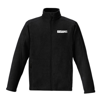 SALE - Men's Journey Core365 Fleece Jacket in Black - EZ Corporate Clothing  - 2