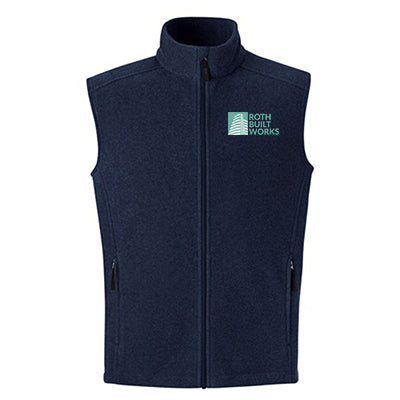 Men's Tall Journey Core365 Fleece Vest