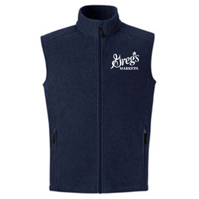 Mens Journey Core365 Fleece Vest